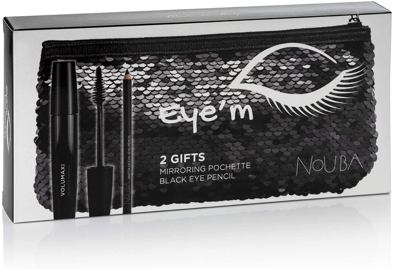NOUBA VOLUMAXI MASCARA WITH POUCH AND EYE PENCILCosmetics Online IE