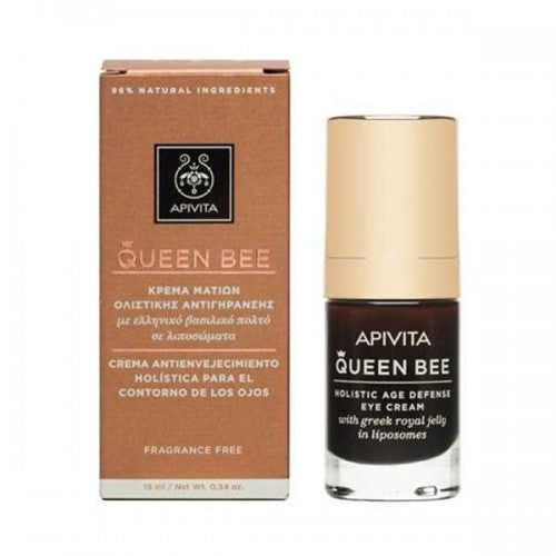 APIVITA-QUEEN BEE Age Defense Eye Cream ( with Royal jelly)Cosmetics Online IE