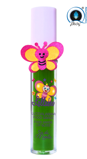 Lallabee Childrens Food Base Lip Gloss (201 Sa Di Menta)Cosmetics Online IE