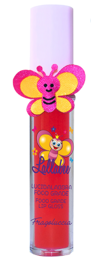 Lallabee Childrens Food Base Lip Gloss (203 Fragolucci) REDCosmetics Online IE