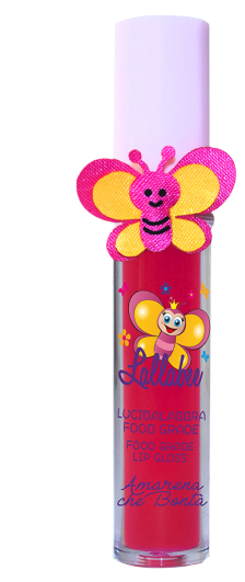 Lallabee Childrens Food Base Lip Gloss (No. 204 Amarena Che Bonta) REDCosmetics Online IE