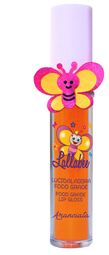 Lallabee Childrens Food Base Lip Gloss (202 Aranciata) ORANGECosmetics Online IE
