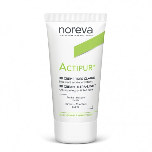 Noreva Actipur Tinted BB Cream - Light 30ml
