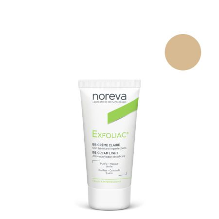 Noreva Exfoliac BB Cream - Light  30ml