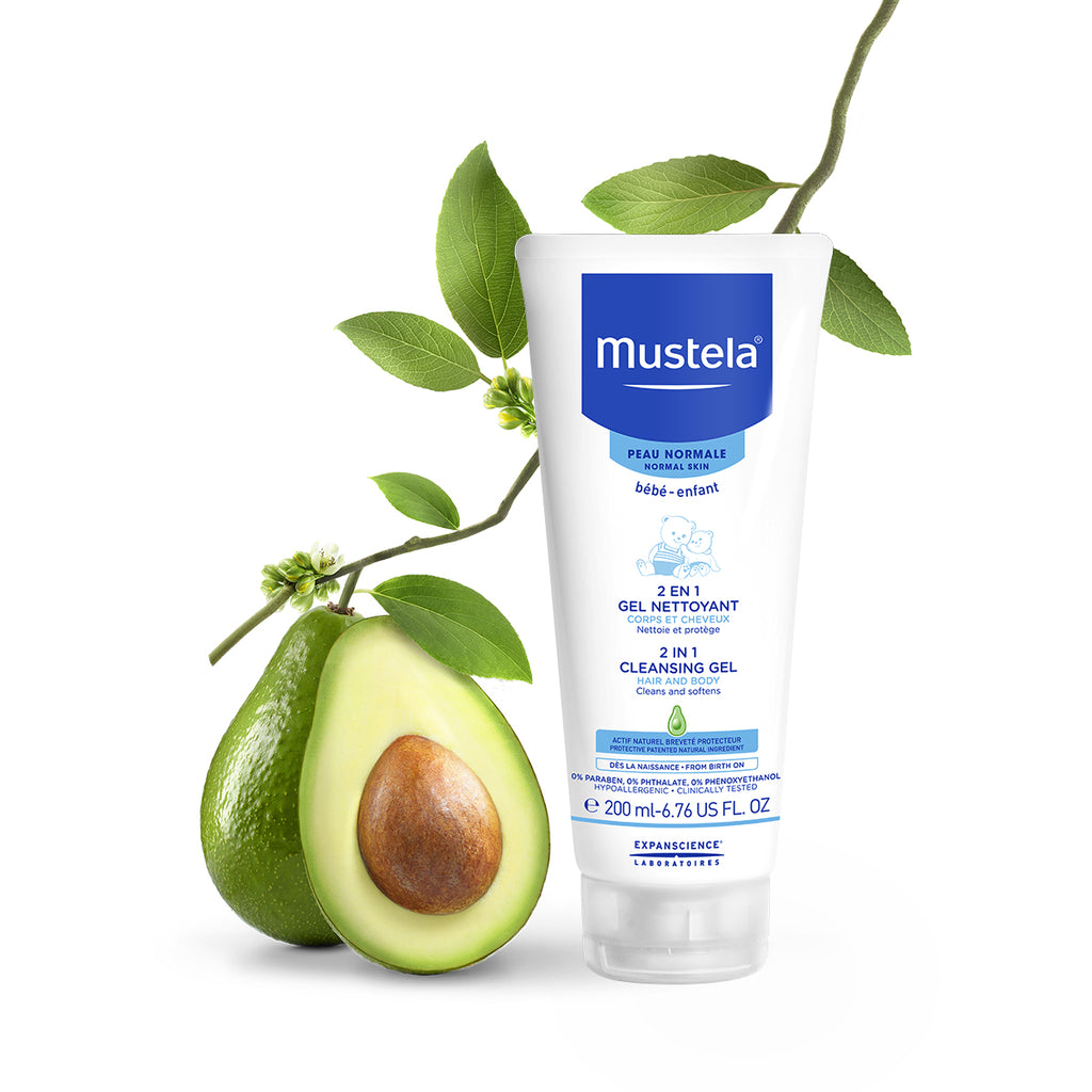 Mustela 2 in 1 Cleansing gel 200mlCosmetics Online IE