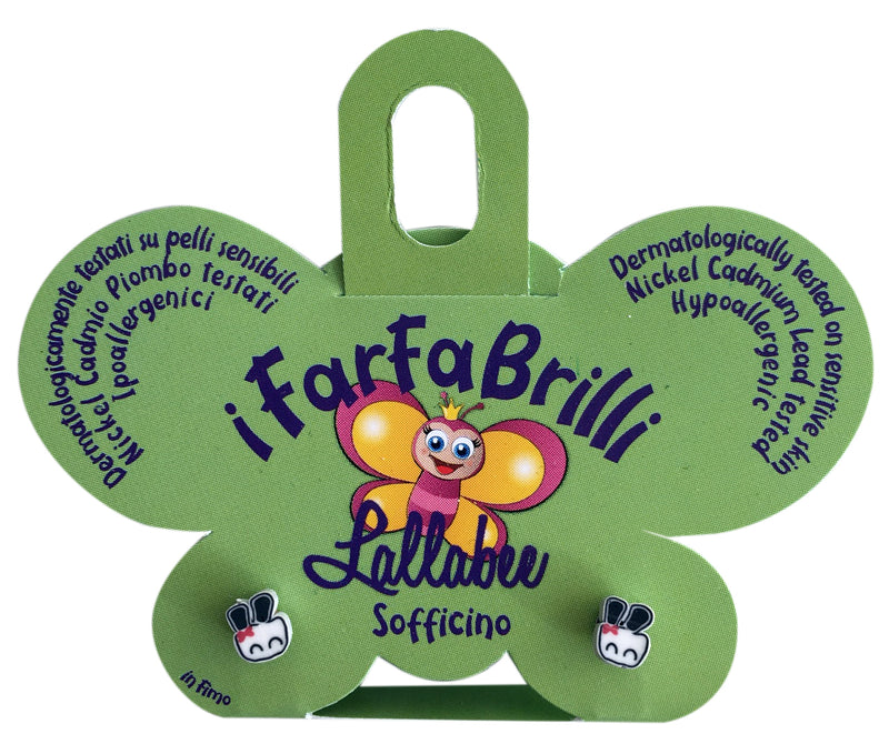LALLABEE- Farfabrilli Earrings for children (Sofficino)Cosmetics Online IE