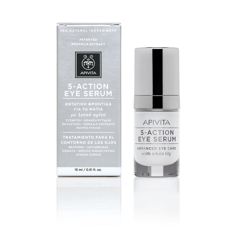 Apivita 5 Action Intensive Care Eye Serum 15ml