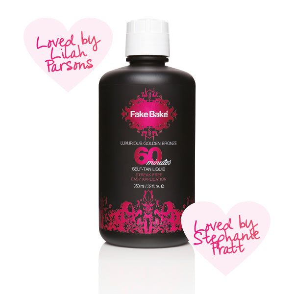 Spray Tan Liquid - 60 Minutes - Fake Bake 950mlCosmetics Online IE