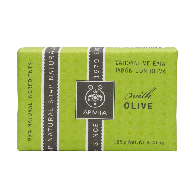 Apivita Natural Soap Olive Oil 125g