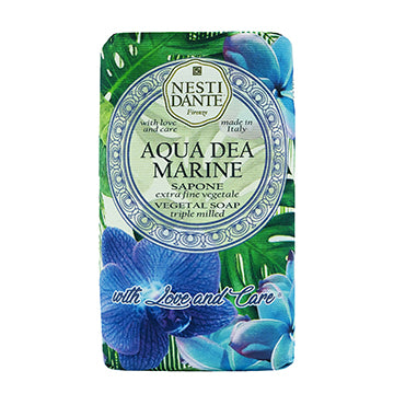 "Nesti Dante ""WITH LOVE & CARE"" Aqua Dea Marine 250g Soap BarCosmetics Online IE"
