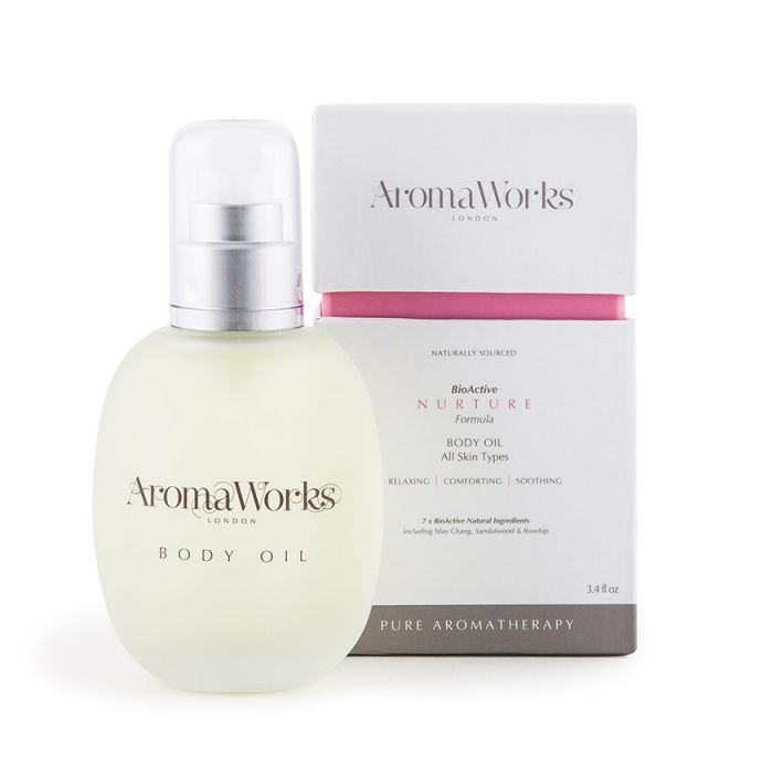 Aroma Works Pure Aromatherapy Hydrating Nurture Body Oil - 100ml