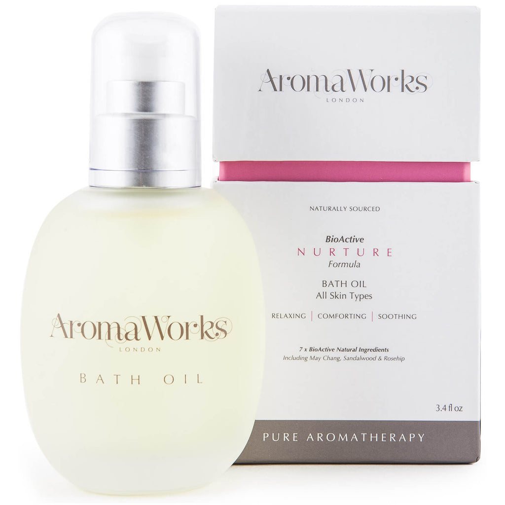 Aroma Works Pure Aromatherapy Soothing Nurture Bath Oil - 100ml-cosmetics-online