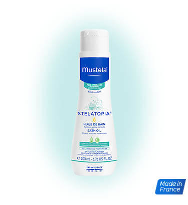 Mustela Stelatopia bath oil 200mlCosmetics Online IE