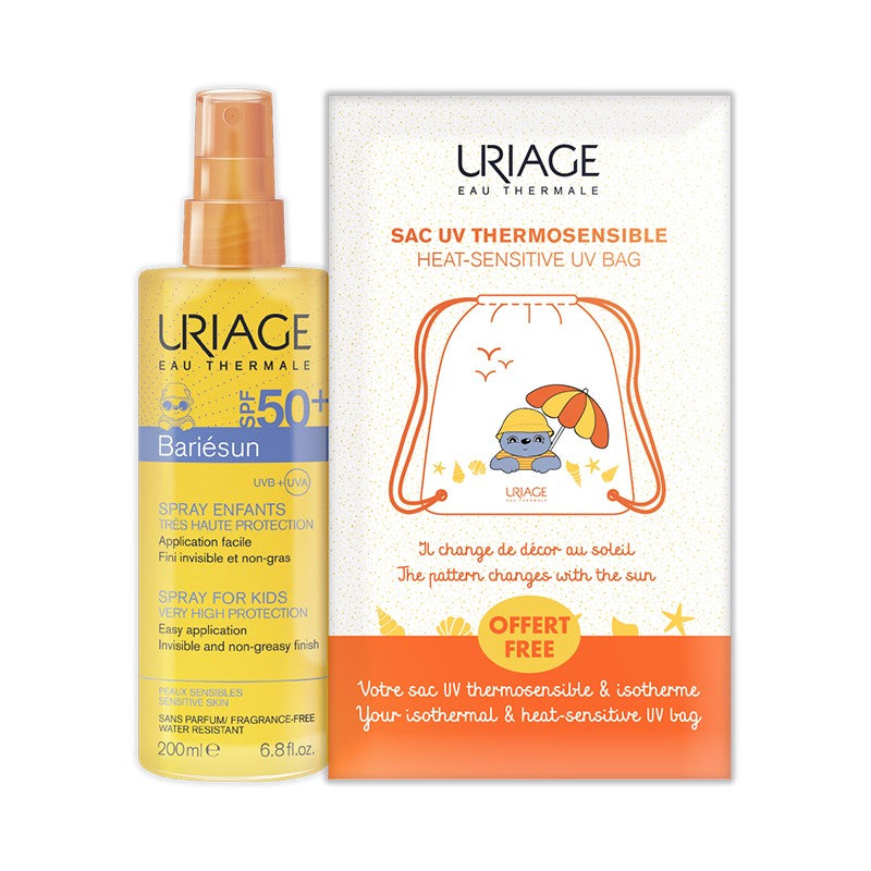 Uriage Bariesun Spray SPF50+ 200ml + Free UV Bag