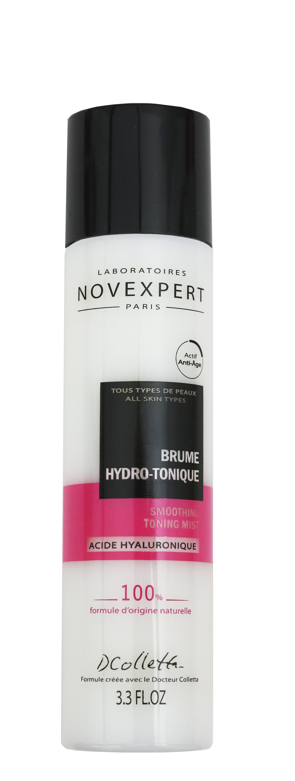 Novexpert Smoothing Toning Mist with Hyaluronic Acid – 100ml