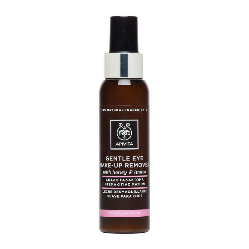 Apivita Gentle Eye Makeup Remover with Honey & Linden 100ml