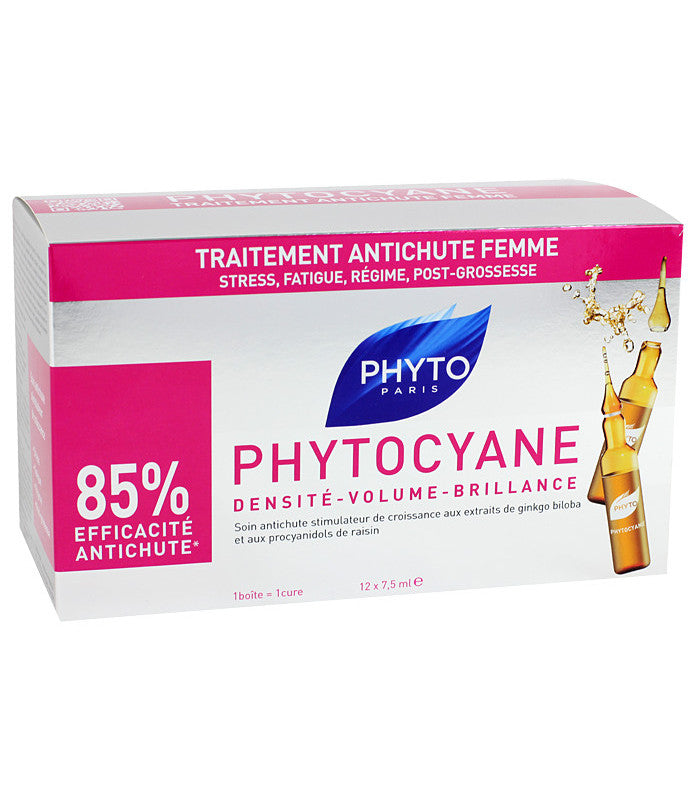PHYTOCYANE Thinning Hair Treatment - WomanCosmetics Online IE