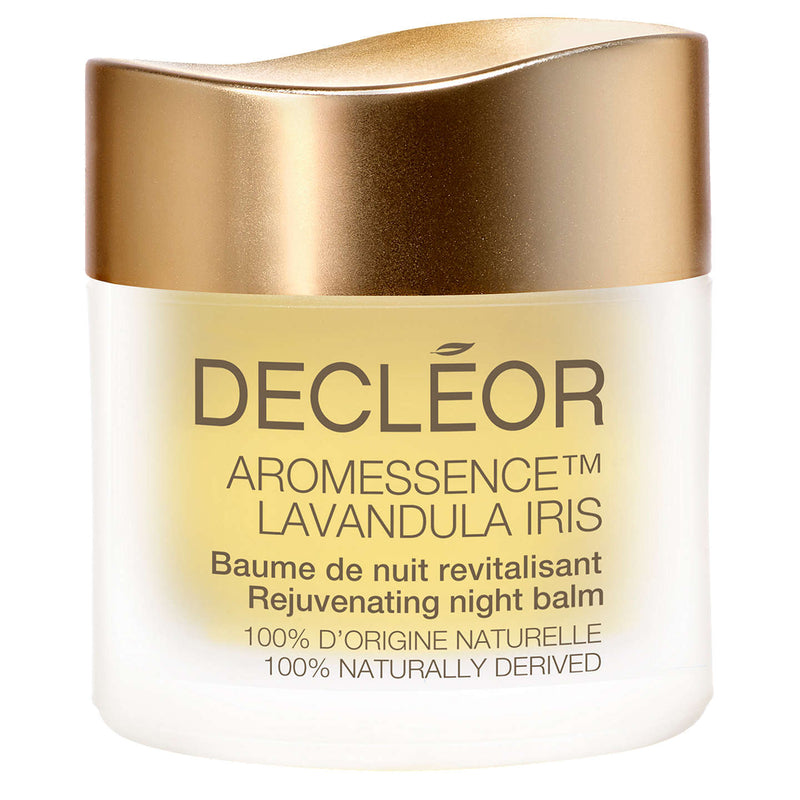 Shop Decléor Aromessence Lavandula Iris Night Balm Today at Cosmetics Online. Firming Rejuvenating Balm 100% Natural Origin.