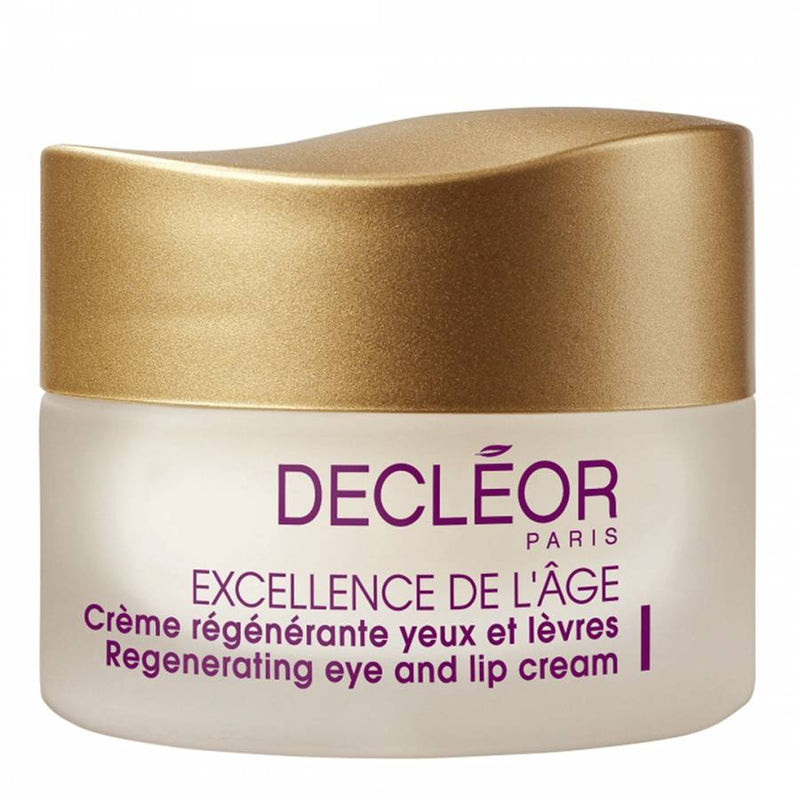 Decleor Excellence de L'Age Regenerating Eye & Lip Cream - 30ml