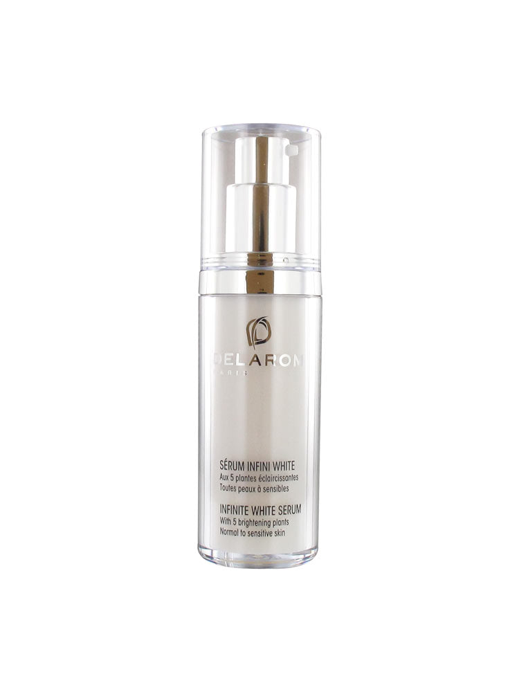 Delarom Infinite White Serum with 5 Brightening Plants - 30ml