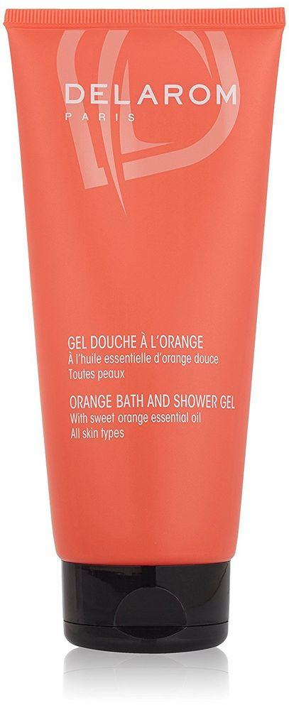 delarom-orange-shower-gel-cosmetics-online-ireland