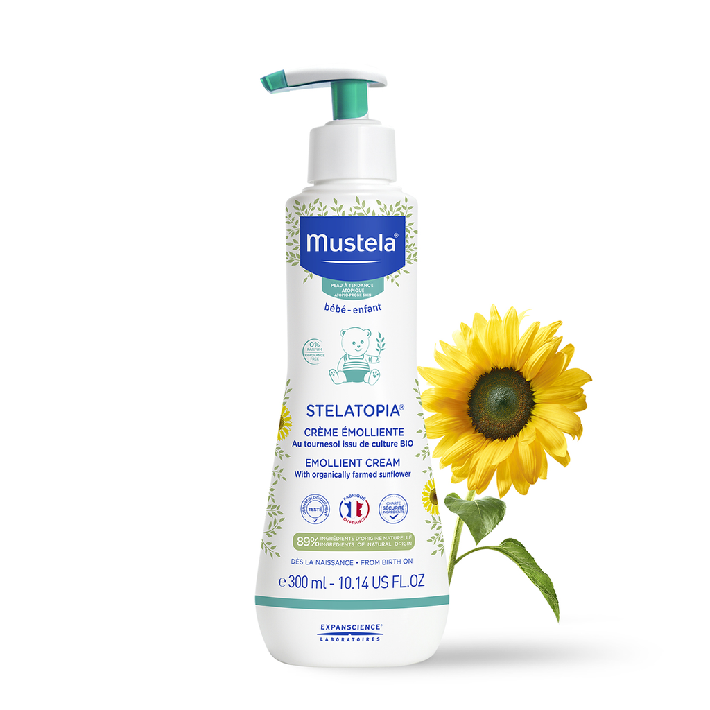 Mustela STELATOPIA Emollient cream 200ml.Cosmetics Online IE