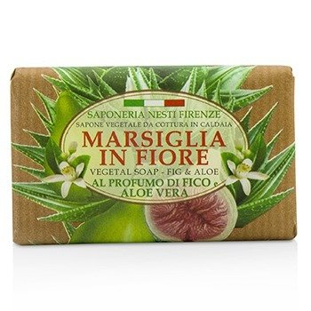 Nesti Dante Marsiglia In Fiore Vegetal Soap - Fig & Aloe Vera 125gmCosmetics Online IE