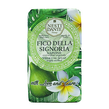 "Nesti Dante ""WITH LOVE & CARE"" Fico della Signoria  250g Soap BarCosmetics Online IE"