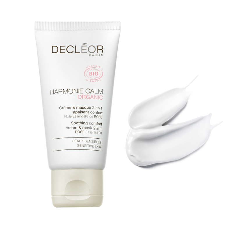 Decleor Harmonie Calm Organic Cream and Mask 2 in 1Cosmetics Online IE