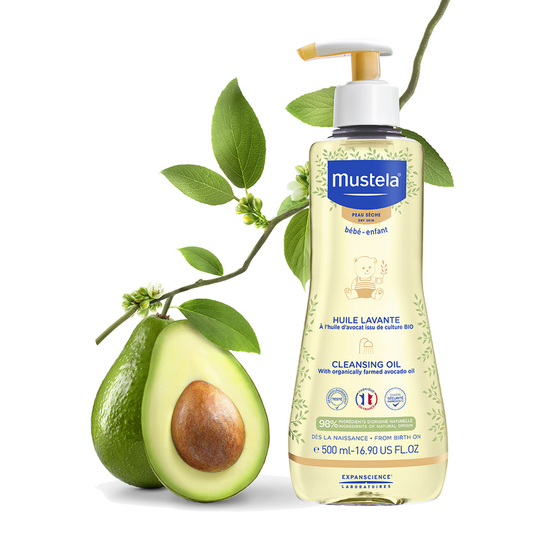 Mustela Huile Lavante Cleansing oil 500mlCosmetics Online IE