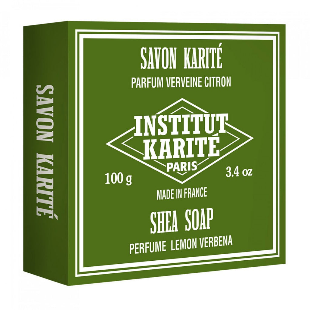 INSTITUT KARITE PARIS Lemon Verbena Shea Soap 100-cosmetics-online
