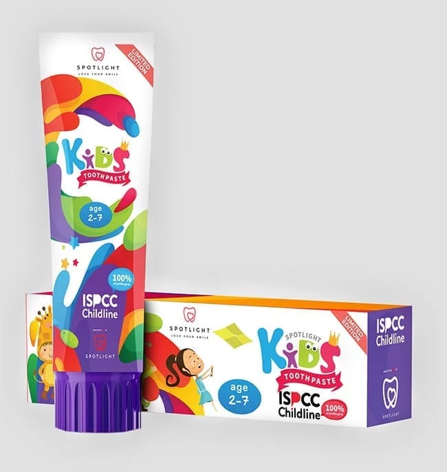 SPOTLIGHT X ISPCC KIDS TOOTHPASTECosmetics Online IE