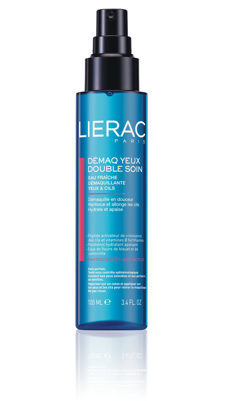 Lierac Triple Action Eye Makeup Remover - 100ml - cosmetics online