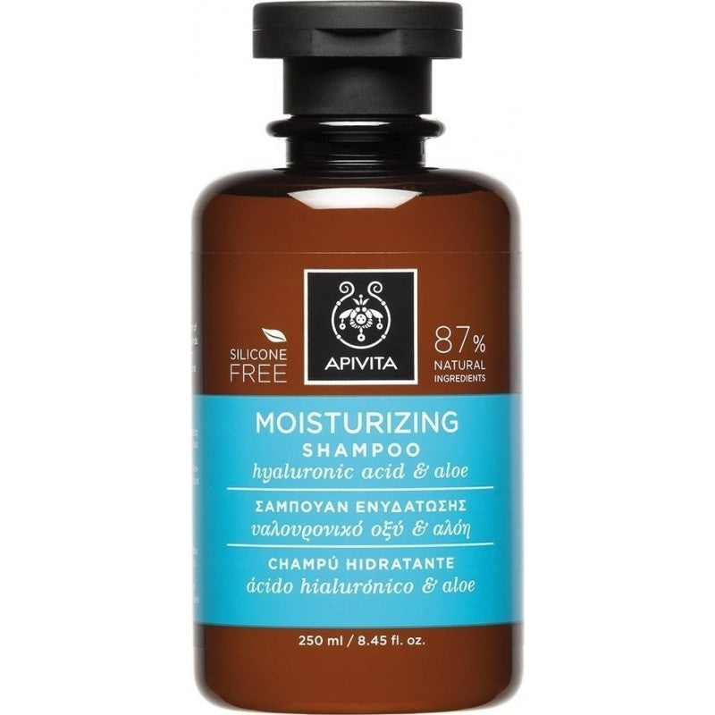 Apivita Moisturising Shampoo with Hyaluronic Acid & Aloe 250ml