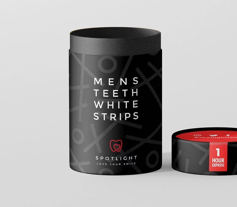 SPOTLIGHT - Men's Teeth Whitening StripsCosmetics Online IE