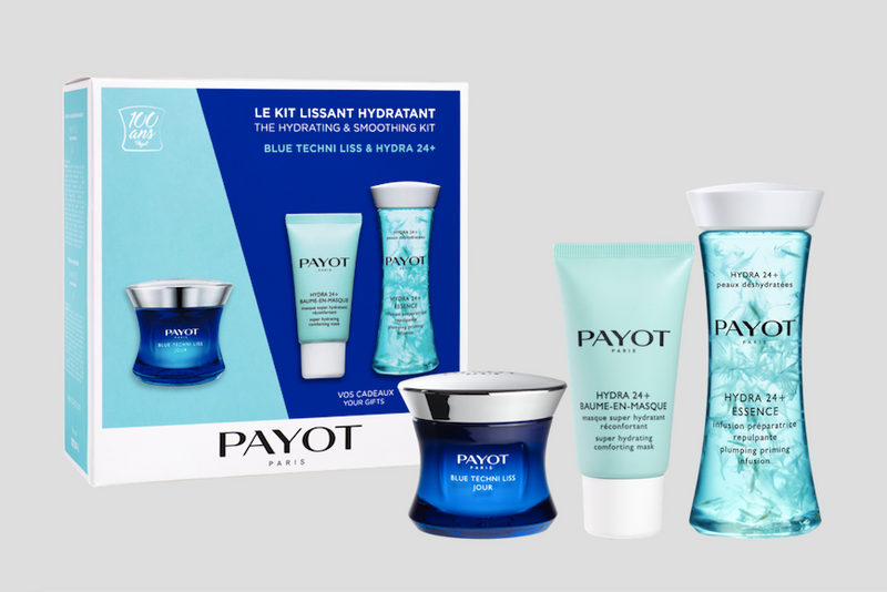 Payot Hydrating & Smoothing Kit ( Blue Techni &Hydra Essence)Cosmetics Online IE