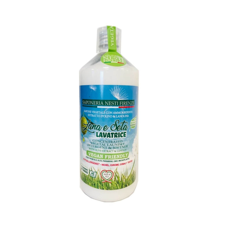 LANA & SETA - with Olive Oil Liquid Laundry Soap 1lCosmetics Online IE