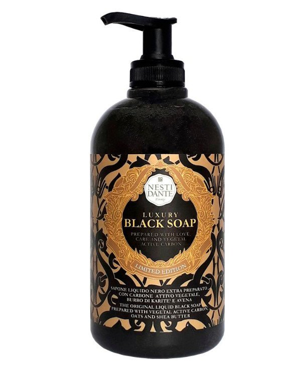 NESTI DANTE Luxury Black Soap Hand & Body Wash - 500ml Pump BottleCosmetics Online IE