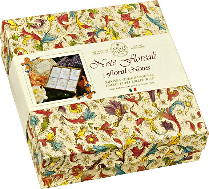 Nesti Dante Floral Notes Gift Set 6 x 100g - cosmetics-online