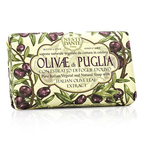 Nesti Dante Natural Soap With Italian Olive Leaf Extract-cosmetics-online