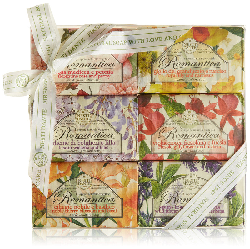 Nesti Dante Romantica Soap Collection Set - Cosmetics Online