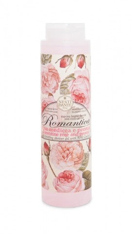 Nesti Dante Romantica - FLORENTINE ROSE & PEONY Shower Gel 300ml Bottle with CapCosmetics Online IE
