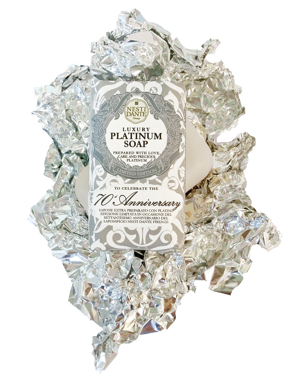 Nesti Dante Luxury - PLATINUM SOAP 250gm BarCosmetics Online IE