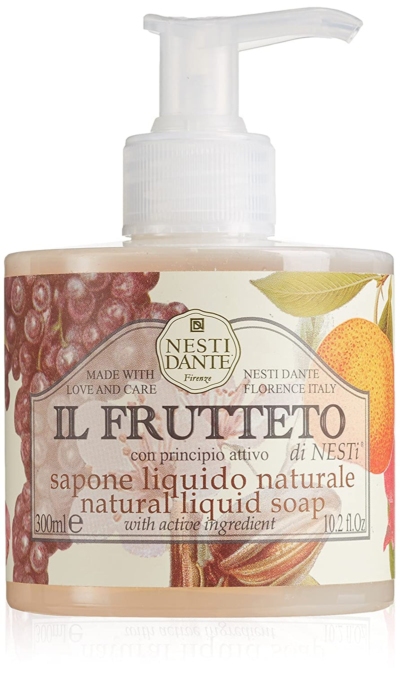 Nesti Dante Liquid Soap Il FRUTTETO Pump Bottle 300mlCosmetics Online IE