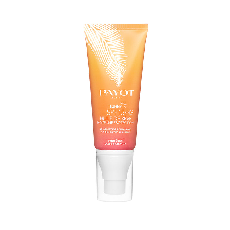Payot Sunny SPF 15 Huile De Rêve – Body and Hair