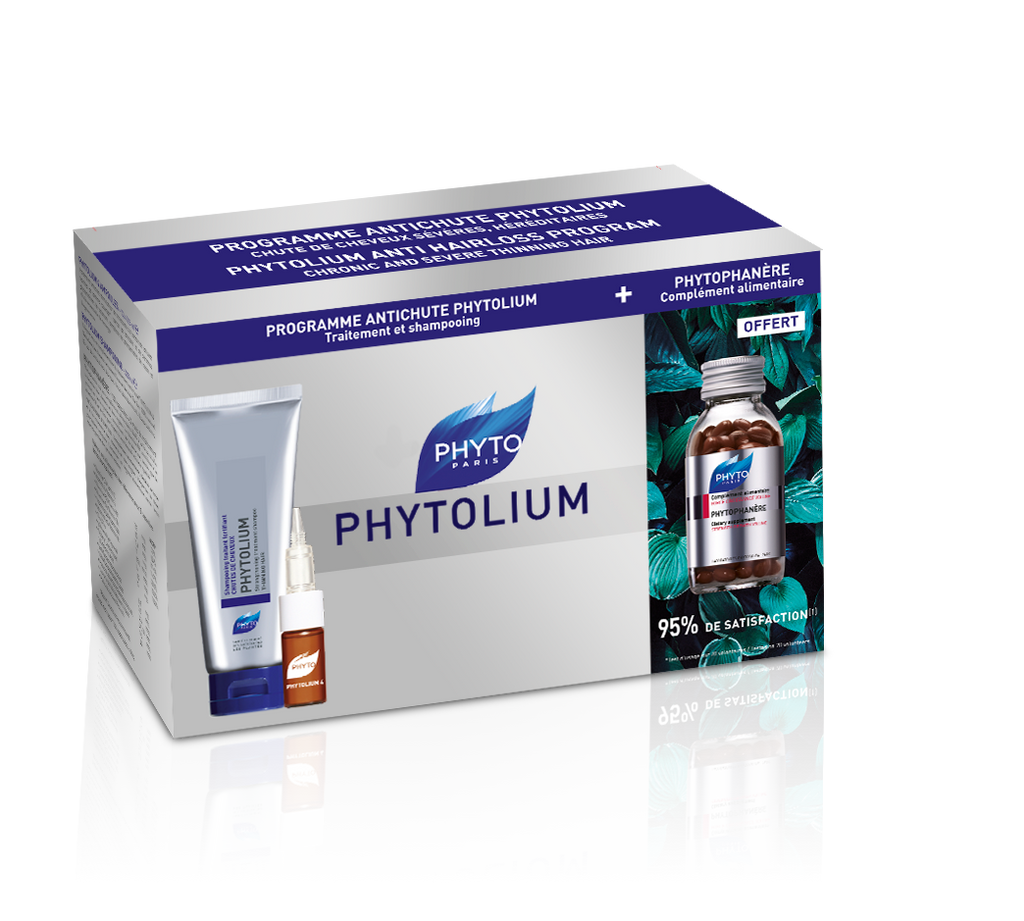 Phyto PhytoLium Kit - PhytoLium Shampoo & Treatment + Phytophanere