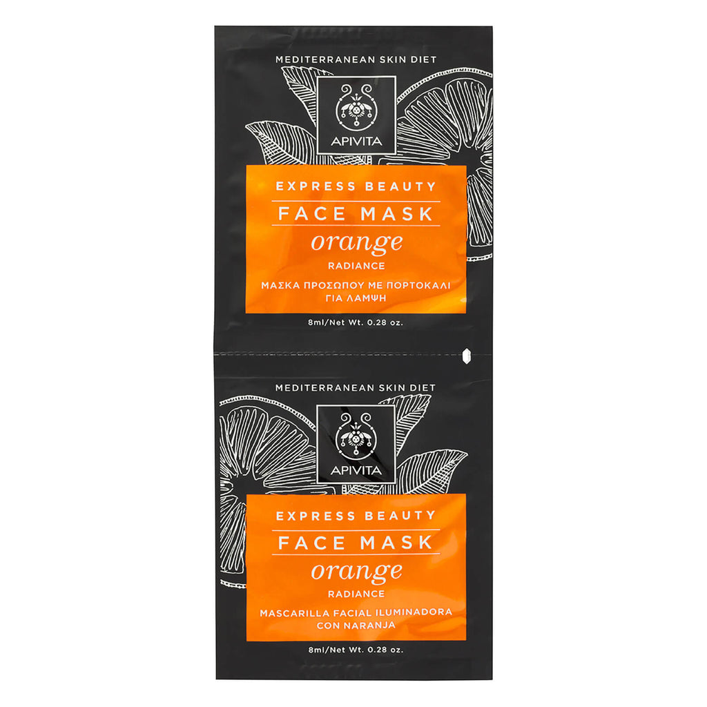 Apivita Orange Radiance Face Mask 2x8ml