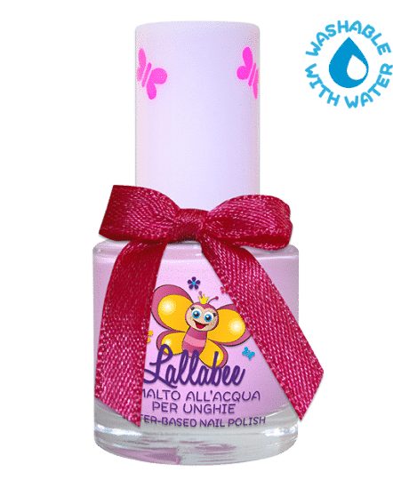 LALLABEE -Childrens Water-based nail polish ROSALINDA PINK 101Cosmetics Online IE