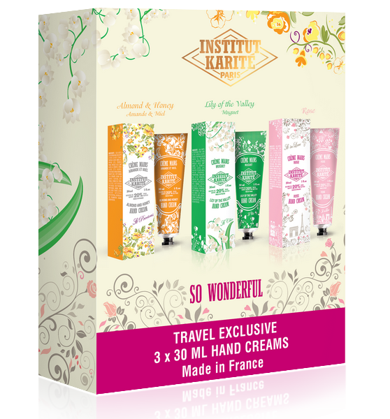 Shea Hand Creams Trio - body care - Institut Karité Paris-cosmetics-online