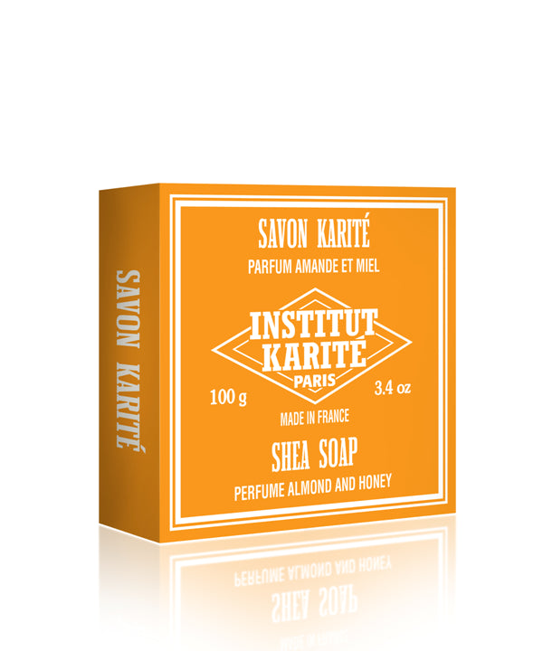 Institut Karite Paris Shea Soap Almond and Honey - 70% OFFCosmetics Online IE